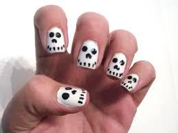 Halloween Skull Nails So Easy And Cute Polish Me Please