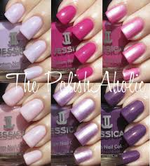 the polishaholic jessica spring 2012 heavy petal collection swatches