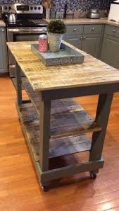 diy kitchen island cart 10 diy kitchen islands to really maximize your space pallet