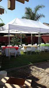 rent a canopy evelyns jumpers party rentals chairs and tables for rent