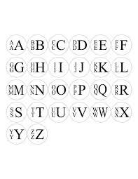 stacked monogram moon and lola vineyard cuff links stacked monogram