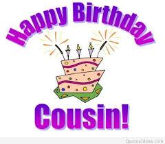 cousin birthday card happy birthday cousin cards happy birthday card cousin message