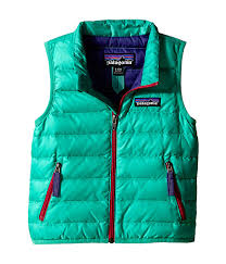 patagonia kids baby down sweater vest infant toddler aqua stone