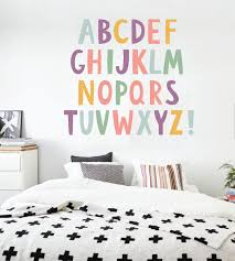 Letter Wall Decals For Nursery Wall Decoration Wall Decal Letters For Nursery Wall And