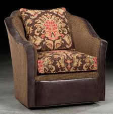 Club Swivel Chairs by Southwestern Style Swivel Chair High End Furniture