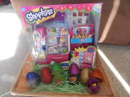 cool easter baskets shopkins so cool fridge and shopkins easter basket no time