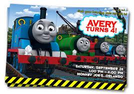thomas the train party invitations cloveranddot com