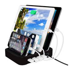 electronic charging station china 4 port portable charging station from shenzhen manufacturer