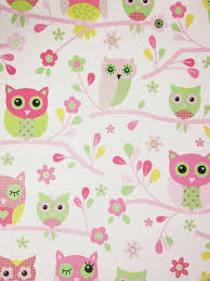 country owls pink wallpaper izzy u0027s new bedroom ideas pinterest
