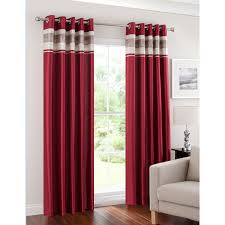 Black Eyelet Curtains 66 X 90 B U0026m Napoli Pleated Border Fully Lined Eyelet Curtain 66 X 72