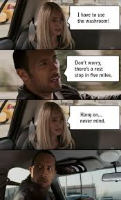 Driving Memes - the rock driving know your meme