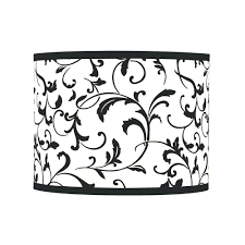 table lamps black drum lamp shade with spider assembly gray lamp