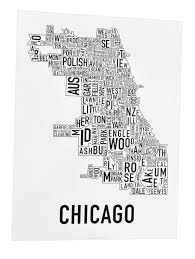 Chicago City Limits Map by Chicago Neighborhood Map 18