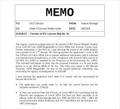 internal memo templates 6 free word pdf documents template of a