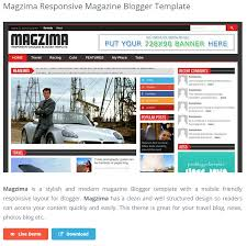 free magazine blogger template best free responsive blogger templates impact social media