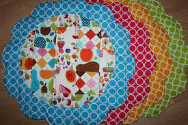 quilted placemats for round tables quilted placemats for round tables round designs