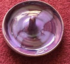 silver dish ring holder images Purple ring holder dish christmas jewelry dish ceramic etsy jpg