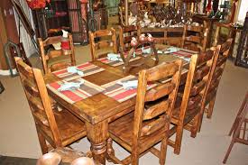 Cowboy Table Decorations Ideas Attractive Western Kitchen Table Including Room Cabinets 2017