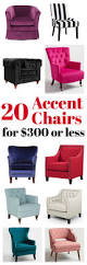 20 upholstered affordable accent chairs