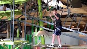 russ on ropes course at museum of curiosity june 15