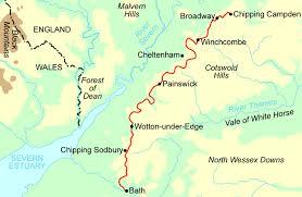 map uk bath contours walking holidays
