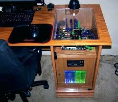 Computer Built Into Desk Computer Built Into Desk Plans Built In Computer Desk Plans Top