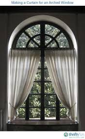 Curtains For Windows With Arches How To Dress A Arched Window View Topic How Do You Blind Cover