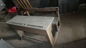 bureau ancien ecolier bureau écolier ancien décapé 60 00 vintage indus patine 38