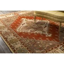Surya Home Decor Orange 100 Wool Surya Home Decor From Lowe U0027s Canada