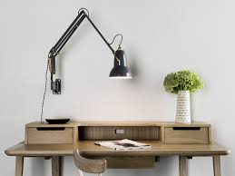 lamps reading lights wall mounted for bedroom swing arm wall with