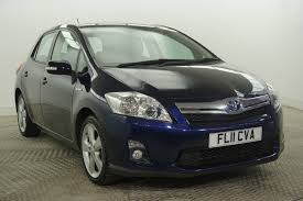 used toyota auris cars for sale in manchester greater manchester