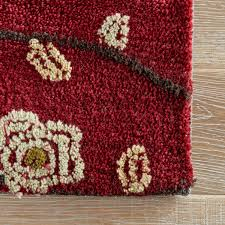 Red Area Rug by Cherry Blossom Area Rug Roselawnlutheran