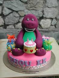 Diy Barney Decorations Barney Cupcakes Barney Party Cupcake Frosting And Frost Cupcakes