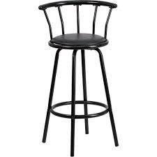 Home Decorators Bar Stools by Swivel Bar Stools Walmart Com Flash Furniture Crown Back Black
