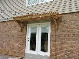 pergola above door free plans woodwork city free woodworking plans