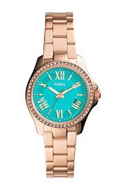 bracelet watches fossil images Fossil women 39 s cecile small crystal bezel bracelet watch jpg