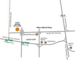 mapping layout perusahaan residency cendana penang property talk