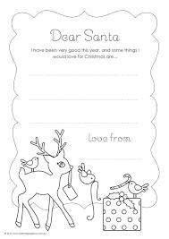 style gorgeous free colour letter santa