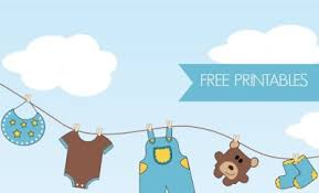 Safari Boy Baby Shower Ideas - 21 free boy baby shower printables spaceships and laser beams