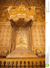 Royal Bedroom by Interior Of Royal Bedroom At Palace Of Versailles In Paris France