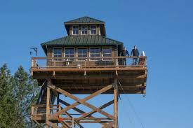 Off Grid House Plans Off Grid Lookout Tower Cabin In Tiller