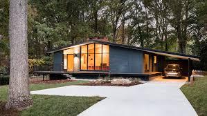 mid century modern home mid century architectural renovations dezeen
