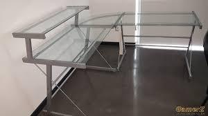 bureau vitre a donner bureau de coin vitré