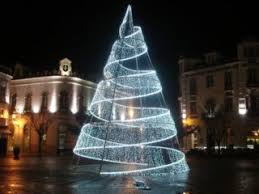 spiral christmas tree unique outdoor big led spiral christmas trees yandecor