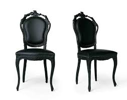 Black And White Dining Room Chairs 25 Best Black Leather Dining Chairs Ideas On Pinterest Modern