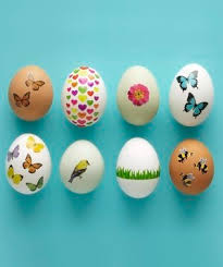 easter eggs decorated pictures no dye easter egg decorating ideas real simple