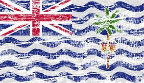 flag of the british indian ocean territory the symbol of prosperity