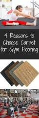 Exercise Floor Mats Over Carpet by 4 Reasons To Use Carpet For Gym Flooring Flooringinc Blog