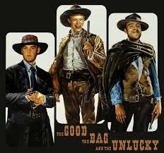 The Good The Bad And The Ugly Meme - the good the bag and the unlucky bad luck brian know your meme