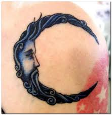 23 best crescent moon tattoos images on pinterest awesome things